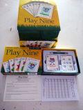 Карточная игра карточек гольфа играя