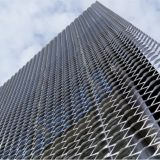 건축에 의하여 이용되는 확장된 금속 메시