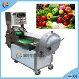 De automatische Elektrische Plantaardige Snijder die van het Fruit de Machine van Dicer van de Snijmachine van de Ontvezelmachine verscheuren
