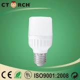 Aluminium de plastique de l'ampoule 6-38W de forme de la haute performance T de Ctorch