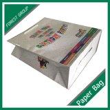 Dom impressa saco de papel comercial personalizado com logotipo