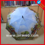 Publicidade 32 'Inch 8k Fiberglass Double Layer Golf Umbrella