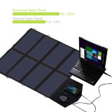 Porte doppie solari pieghevoli portatili del caricatore 40W18V 5V del comitato