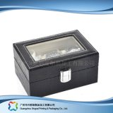 Caja de embalaje de madera/del papel de lujo de la visualización para el regalo de la joyería del reloj (xc-dB-011)
