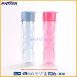 Bottiglia di acqua di plastica doppia di vendita calda di modo differente di colori