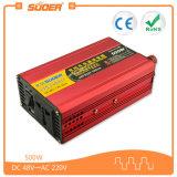 C.C. 48V del inversor del precio de fábrica de Suoer 500W al inversor de la CA 220V (SUB-500F)