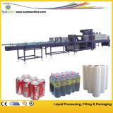 Tipo de película térmica lineal de la máquina de embalaje / Equipo