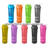 3 [سبورتس] طبقات [600مل] بلاستيكيّة بروتين رجّاجة زجاجة [جوشكر] عادة زجاجة مع [متل بلّ]