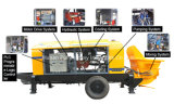 Elektrische bewegliche Betonpumpe des neuer Zustands-hohe Leistungsfähigkeit Simens Motor80 M3/H (HBT80.16.116S)