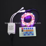 Controle Remoto Cobre Firefly Arroz Mini 0603 Light String Multi-Color RGB para Holiday Christmas Decoration
