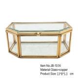 De decoratieve Doos van de Juwelen van de Verpakking van de Gift van het Huwelijk van het Glas van de Manier