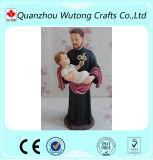 樹脂のギフトの卸し売りイエス・キリスト彫像および赤ん坊