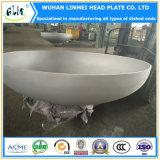 ステンレス鋼の大口径のTorisphericalヘッドか楕円ヘッドまたは皿に盛られたエンドキャップ