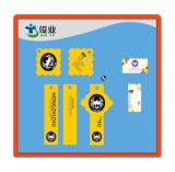 Hangtag дешевого изготовленный на заказ логоса печатание цветастый бумажный