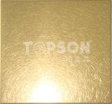 Plaque à tôle en acier inoxydable pour décoration