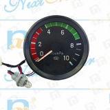 Calibrador de presión mecánico de aire del puntero doble auto
