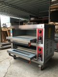 De commerciële Multifunctionele Dubbele Oven van de Pizza van de Dienbladen van Dekken Dubbele Elektrische
