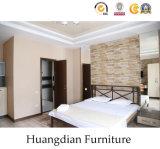 最高の高級ホテルの組の木のホテルの寝室の家具(HD420)