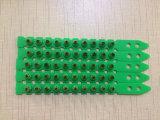 Couleur verte. 27 chargement de poudre de chargement de pouvoir de bande du plastique 10-Shot S1jl de calibre