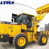 Ltma artikulierte Miniladevorrichtung des Rad-3t mit der Kapazität der Wannen-1.7m3