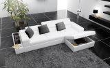 [إيوروبن] تصميم ركب جلد أريكة مع تخزين ([هك1070])