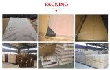 O PVC folheado de madeira MDF Porta de vidro