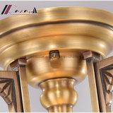 屋外の通路のためのアメリカの真鍮単一ヘッド吊り下げ式ライト