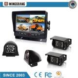"""Sistema de segurança de 7"""" com câmera para visão traseira CCD para uso de caminhões e ônibus, Mark & Certificação CE"""