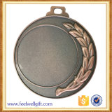Morrer medalhas em branco de bronze feitas sob encomenda do esporte da inserção da lembrança do metal da carcaça