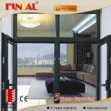Двойное Tempered стекло/Низкая-E стеклянная дверь Австралии стандартная коммерчески алюминиевая