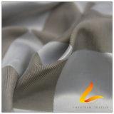 agua de 50d 340t y de la ropa de deportes tela tejida chaqueta al aire libre Viento-Resistente 100% de la pongis del poliester del telar jacquar de la tela escocesa abajo (53221)