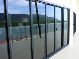 Portes en aluminium fabrique des portes coulissantes en aluminium à double vitrage avec comme2047 comme2208 comme1288