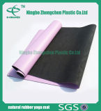 Non couvre-tapis en caoutchouc de yoga de nature de forme physique de couvre-tapis de yoga de caoutchouc mousse de nature de glissade