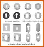 Le meilleur traitement de levier de vente de porte de qualité avec la couverture carrée
