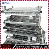 一等級のステンレス鋼は溶接網の電流を通されたワイヤーを拡大した