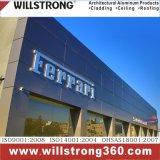 Shopfront Zeichen-Vorstand-materielles zusammengesetztes Aluminiumpanel