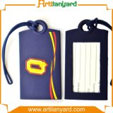 Customized Printing Logo Silicone Luggage Tag