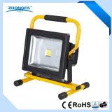 30W rechargeable portable LED Éclairage extérieur