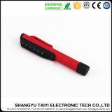 Stylo lumineux Classical Red 7 LED Pocket Light avec Clip