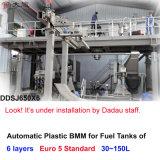 Máquina plástica automática para os tanques de petróleo de sopro do carro