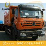 아프리카를 위한 벤즈 기술을%s 가진 사용된 Beiben 덤프 트럭 팁 주는 사람 10 바퀴