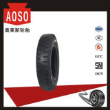 Schräger Reifen mit Gefäß 6.00-15