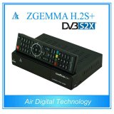 리눅스 OS E2 DVB-S2+DVB-S2/S2X/T2/C 3배 조율사 플러스 2017 새로운 지능적인 인공위성 Receiver&Decoder Zgemma H. 2s