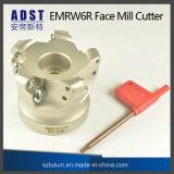 Outil élevé de coupeur de moulin de face de série de la dureté Emrw6r