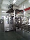 Машина упаковки кофейного зерна с транспортером и жарой - машиной запечатывания