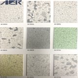 Tegel van de Bevloering Resistanceconductive van de luxe de Bacteriële Homogene Vinyl voor het Ziekenhuis