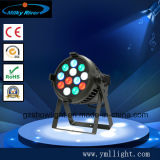 54*3W het BinnenPARI van uitstekende kwaliteit 64 de LEIDENE RGBW Verlichting van het Stadium