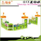 Шкаф мебели детсада малышей/игрушки малышей для индейца