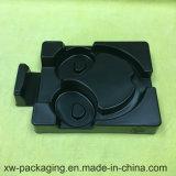 Cassetto nero dell'imballaggio della bolla per la cuffia avricolare