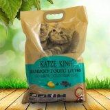 Tofu Serapilheira Cat - o bambu carbono activo, Flushable Clumping,